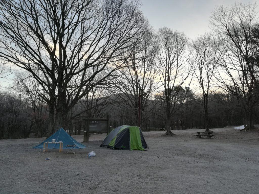 聖湖キャンプ