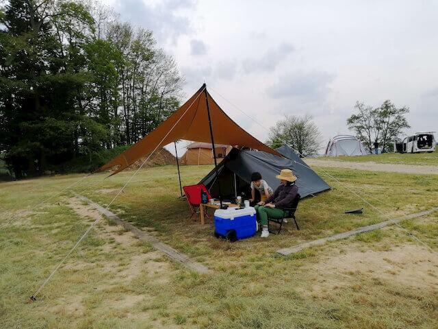 花の駅せらキャンプ