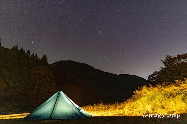 土師ダム キャンプ