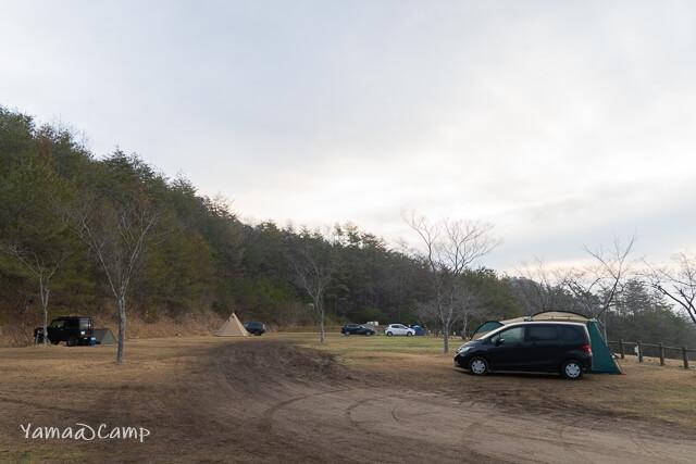香六ダム キャンプ