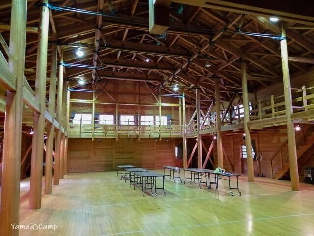 モクモクキャンプ 体育館